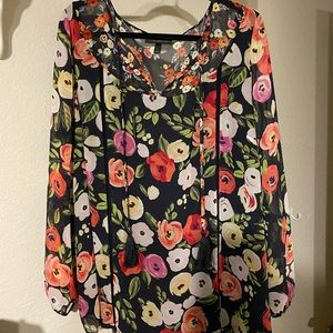 Pretty Blouse- Perfect for Fall!